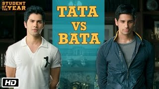 Download Tata vs Bata: The First Encounter - Student Of The Year - Varun Dhawan, Sidharth Malhotra Video