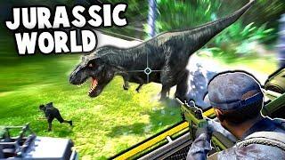 Download Jurassic World Evolution Gameplay - DINOSAUR ESCAPES PARK! (Jurassic World Evolution Part 1) Video