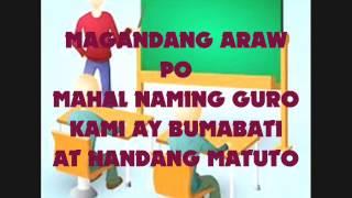 Download K+12 GRADE 4 SONG - MAGANDANG ARAW PO! BY: ERWIN P. MAGISTRADO Video
