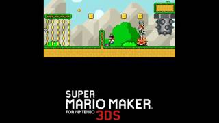 Download 15 minutes of Super Mario Maker for 3DS footage Video