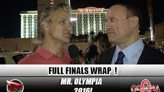 Download Heath Grabs Olympia #6- 2016 Mr Olympia Final Wrap Up With Palumbo & Aceto Video