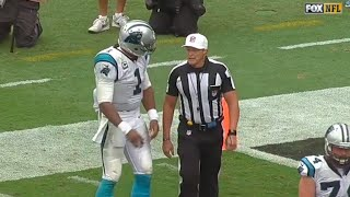 Download Cam Newton Won't Let Di*khead Ref Stop Him From Giving Kid Football Video