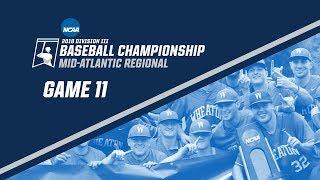 Download 2018 NCAA DIII Baseball Mid-Atlantic Regional - GAME 11 Video