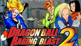 Download DragonBall Raging Blast 2: SSJ Trunks (Sword) VS Androids 16, 17, and 18 (Live Commentary) Video