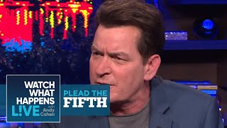 Download Charlie Sheen Ranks Selma Blair, Lindsay Lohan, And Heather Locklear | Plead the Fifth | WWHL Video