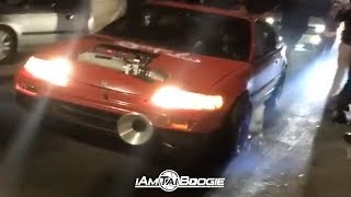 Download Fire Spitting K series CRX vs K24 Civic Hatch $8000.00 Pot Video
