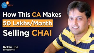 Download How I Am Earning 50 Lakhs A Month by Being a Chaiwala | Robin Jha | TPot Success Story | Josh Talks Video
