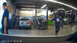 Download Volkswagen Dealer caught on dashcam Video