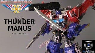 Download Maketoys - MTCD03 - Thunder Manus + Divine Suit Boxset Video