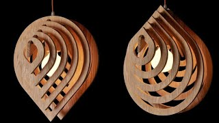 Download Water Drop Hanging lamp by cardboard || Diy Diwali lanther || Pendant Hanging lamp Video