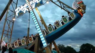 Download Pharaoh's Fury Ride @ Porterville Carnival Porterville CA - SCARY RIDE! - BRAVE KYLE! Video