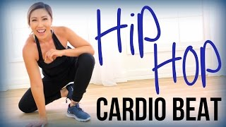 Download Hip Hop Fat Burn // CARDIO BEAT (At Home No Jumping Cardio) Video