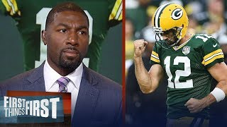 Download Greg Jennings was 'beyond impressed' with Rodgers' comeback win vs Bears | NFL | FIRST THINGS FIRST Video
