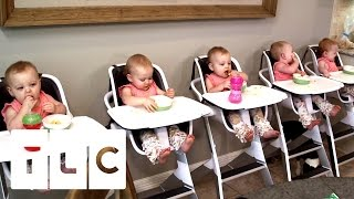Download Feeding And Bathing 5 Babies | Outdaughtered | S2 Episode 1 Video