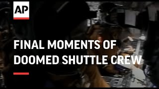 Download Final moments of doomed shuttle crew Video