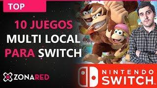 Download 10 juegos de Nintendo Switch para MULTIJUGADOR LOCAL ¡que puede jugar ahora! Video