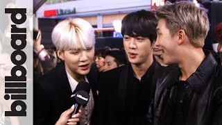 Download BTS Sings Camila Cabello's 'Havana' & Shows Off Some Red Carpet Dance Moves! | AMAs 2017 Video