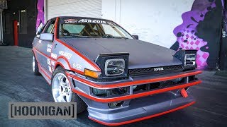 Download [HOONIGAN] DT 148: Electric Toyota AE86 Drift Car Video