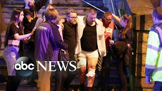 Download Chaos after reports of explosion at Manchester Arena Video