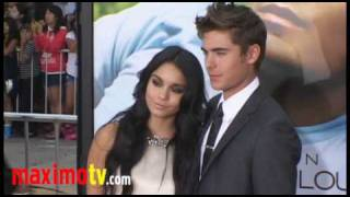 Download Zac Efron and Vanessa Hudgens TOGETHER at ″CHARLIE ST. CLOUD″ Premiere Video