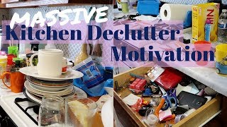 Download Massive Kitchen Decluttering Motivation / Clean with me Video