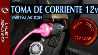 Download INSTALACION DE TOMA DE CORRIENTE DE 12v (detallado paso a paso) Video