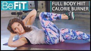 Download Full Body HIIT Calorie Burner Workout: Kara Griffin Video