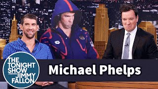 Download Michael Phelps Gets a Life-Size Cutout of His Angry Olympic Face Video