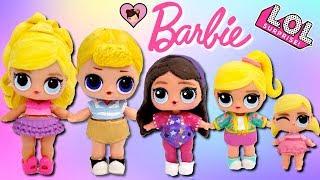 Download Custom Barbie DIY LOL Surprise Family - Ken, Skipper, Stacie and Chelsea Video