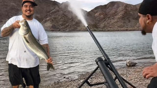 Download Homemade Fishing Cannon - Blasts Bait 200+ Yards With No Problem - Reach Huge Fish Out Deep Video