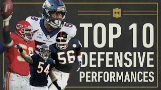 Download The Top 10 Greatest Single-Game Defensive Performances in NFL History | Vault Stories Video