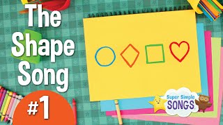 Download The Shape Song #1 | Super Simple Songs Video