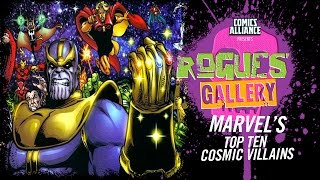 Download 10 Greatest Marvel Cosmic Villains - Rogues' Gallery Video