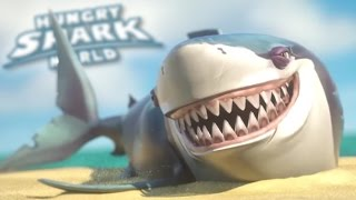 Download Great White Shark Feeds!!! - Hungry Shark World | Ep 33 HD Video