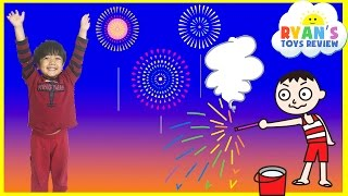 Download Playing with Fireworks Family Fun Night 4th of July Ryan ToysReview Video