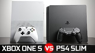 Download Playstation 4 Slim vs Xbox One S - Battle of The Compact Gaming Console! Video