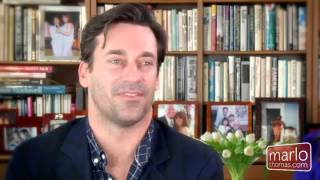 Download Naked Onscreen: John Hamm - Mondays with Marlo Video