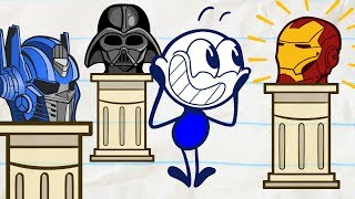 Download Pencilmate in a BATTLE of The BRAINS | Animated Cartoons Characters | Animated Short Films Video