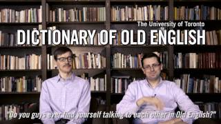 Download University of Toronto: The Dictionary of Old English Video