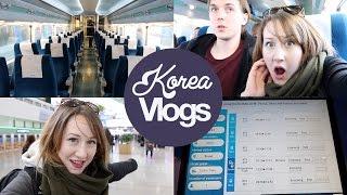 Download Korea Vlog 8: Taking the KTX Train to Busan Video
