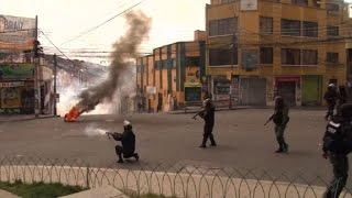 Download Violentas protestas contra proyecto de ley de coca en Bolivia Video