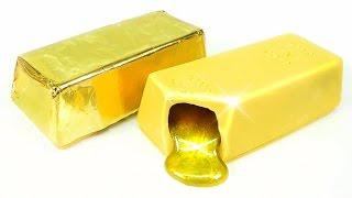 Download DIY Liquid Gold Bar Chocolate ! Deco Items Ideas | MonsterKids Video
