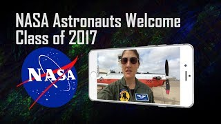 Download NASA Astronauts Welcome Class of 2017 Video