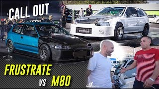 Download CALL OUT! M80 TURBO CIVIC vs Frustrate AWD CIVIC Video