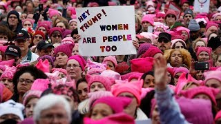Download Watch live: Women's March Rallies from around the U.S. Video