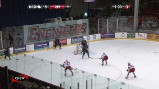 Download RPI Men's Hockey vs. University of Connecticut Video