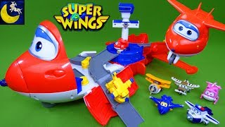 Download Super Wings Jett's Takeoff Tower Launcher Airport Playset Jett Donnie Jerome Dizzy Airplane Toys Video