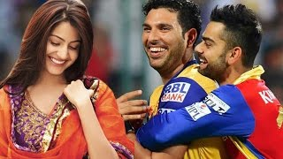 Download Yuvraj Singh CALLS Virat Kohli's girlfriend Anushka Sharma 'Bhabhi' Video