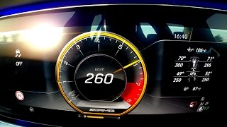 Download 0-260 km/h : new Mercedes-AMG E 63 S (2017) Acceleration launch control Video