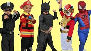 Download Kids Costume Runway Show Power Rangers Superheroes Disney Marvel Dress Up Fun Ckn Toys Video